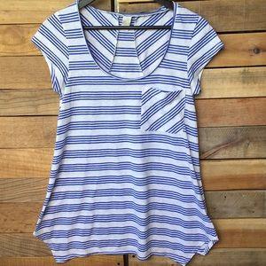 prAna Striped T Shirt